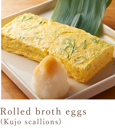 Soup rolled egg